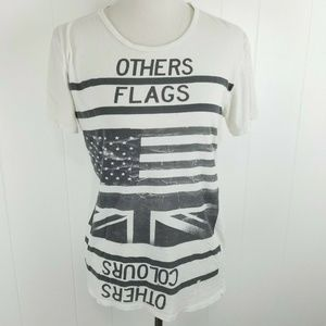 ALLSAINTS Spitalfields Graphic Tee OTHERS FLAGS